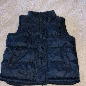 Boys old navy puffer vest